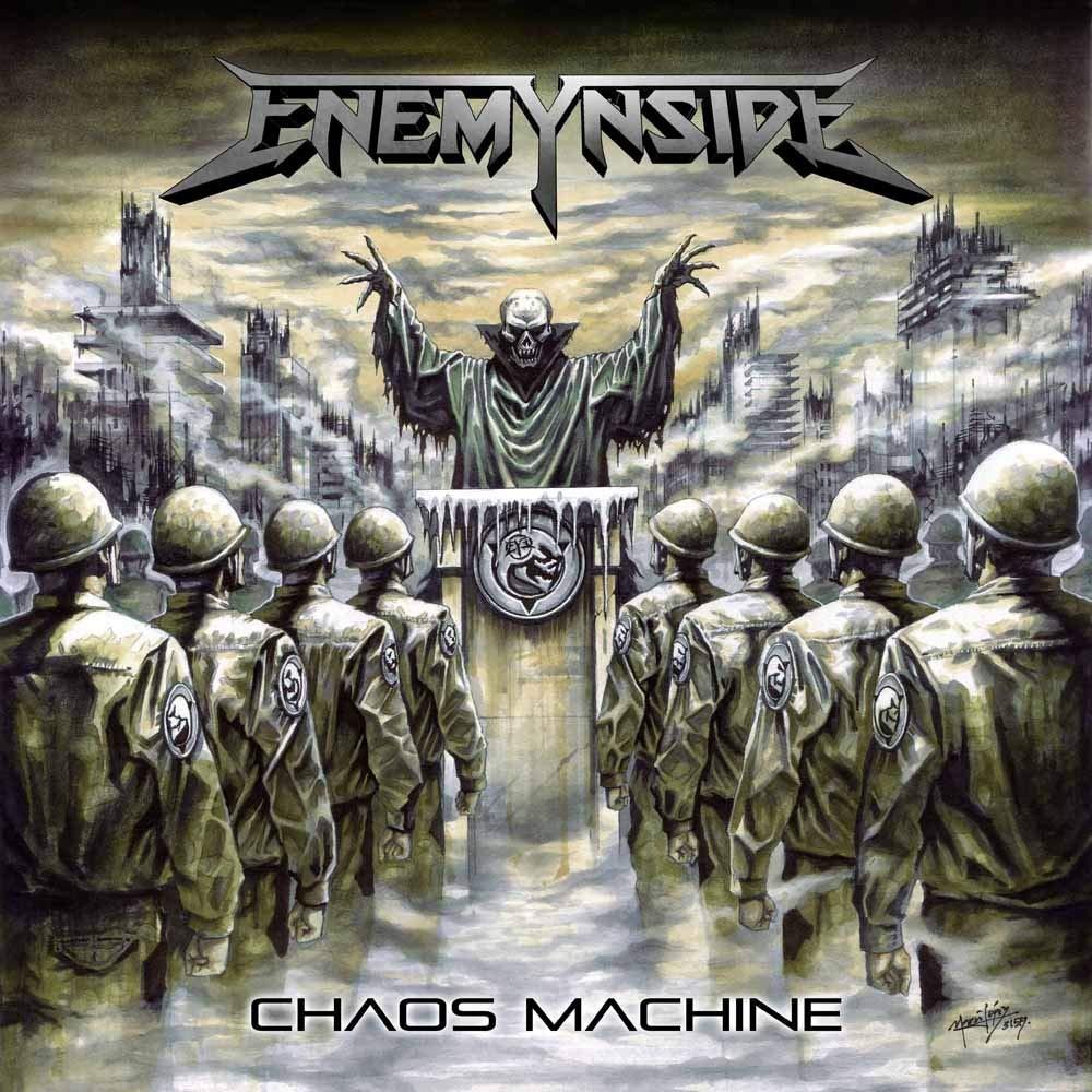 Couverture de l'album Chaos Machine d'Enemynside