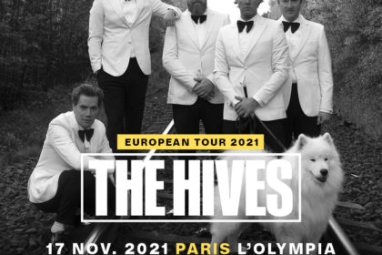 the hives concerts Paris Olympia